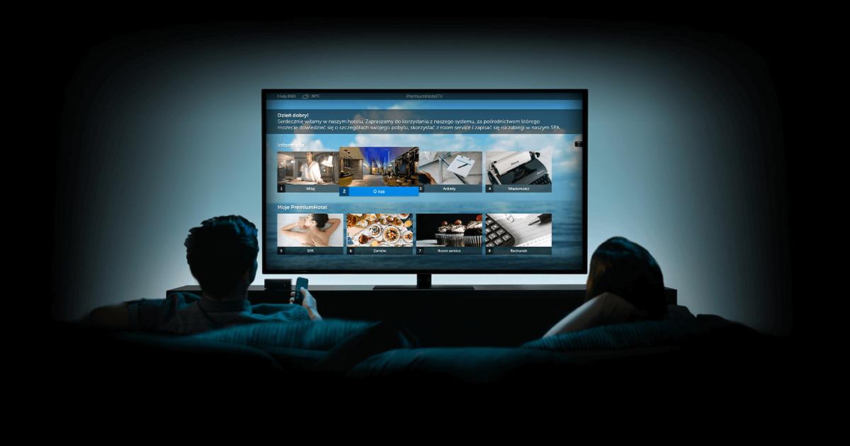 Interaktywna telewizja hotelowa